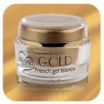 French gel bianco linea Gold - Loving Nails